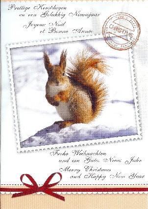 Prettige kerstdagen en een gelukkig Nieuwjaar, meertalig