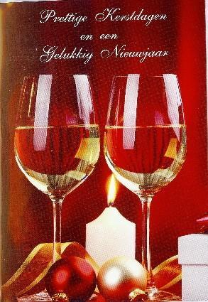 Prettige kerstdagen en gelukkig Nieuwjaar!
