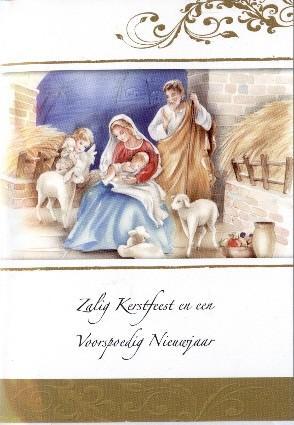 Zalig kerstfeest en een voorspoedig Nieuwjaar
