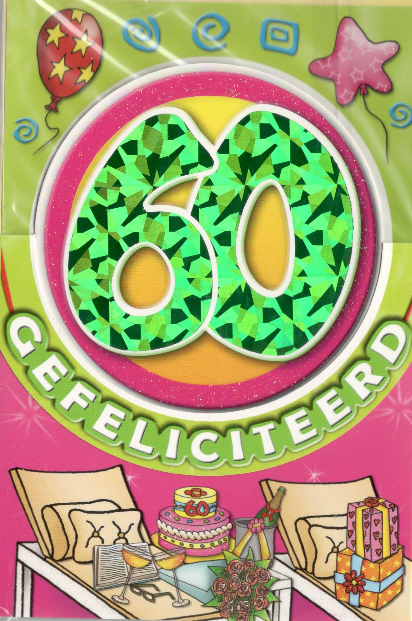 60 Jaar Getrouwd Tekst Kaart
