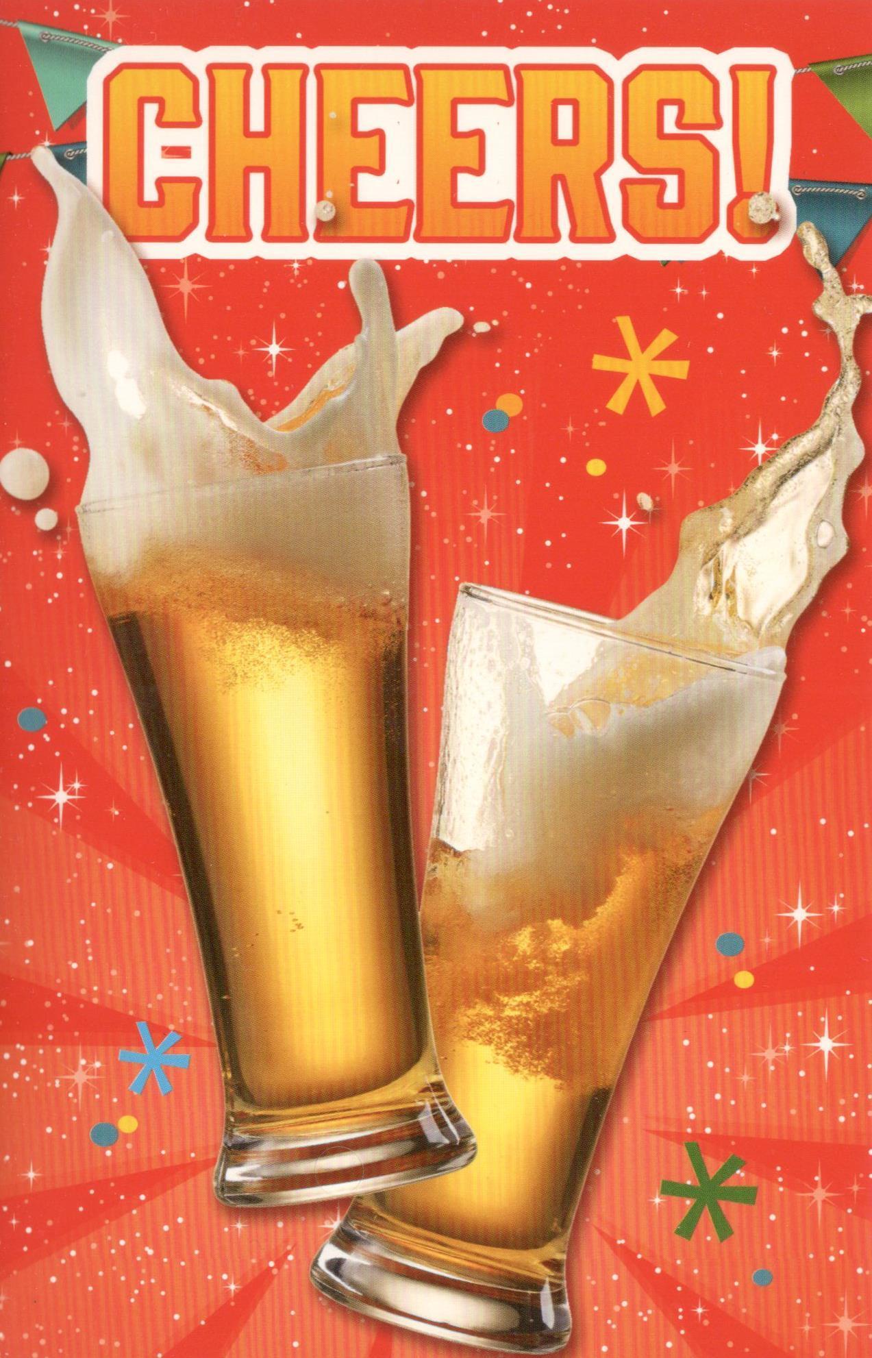 Verjaardagskaarten Met Bier Voor Een Man