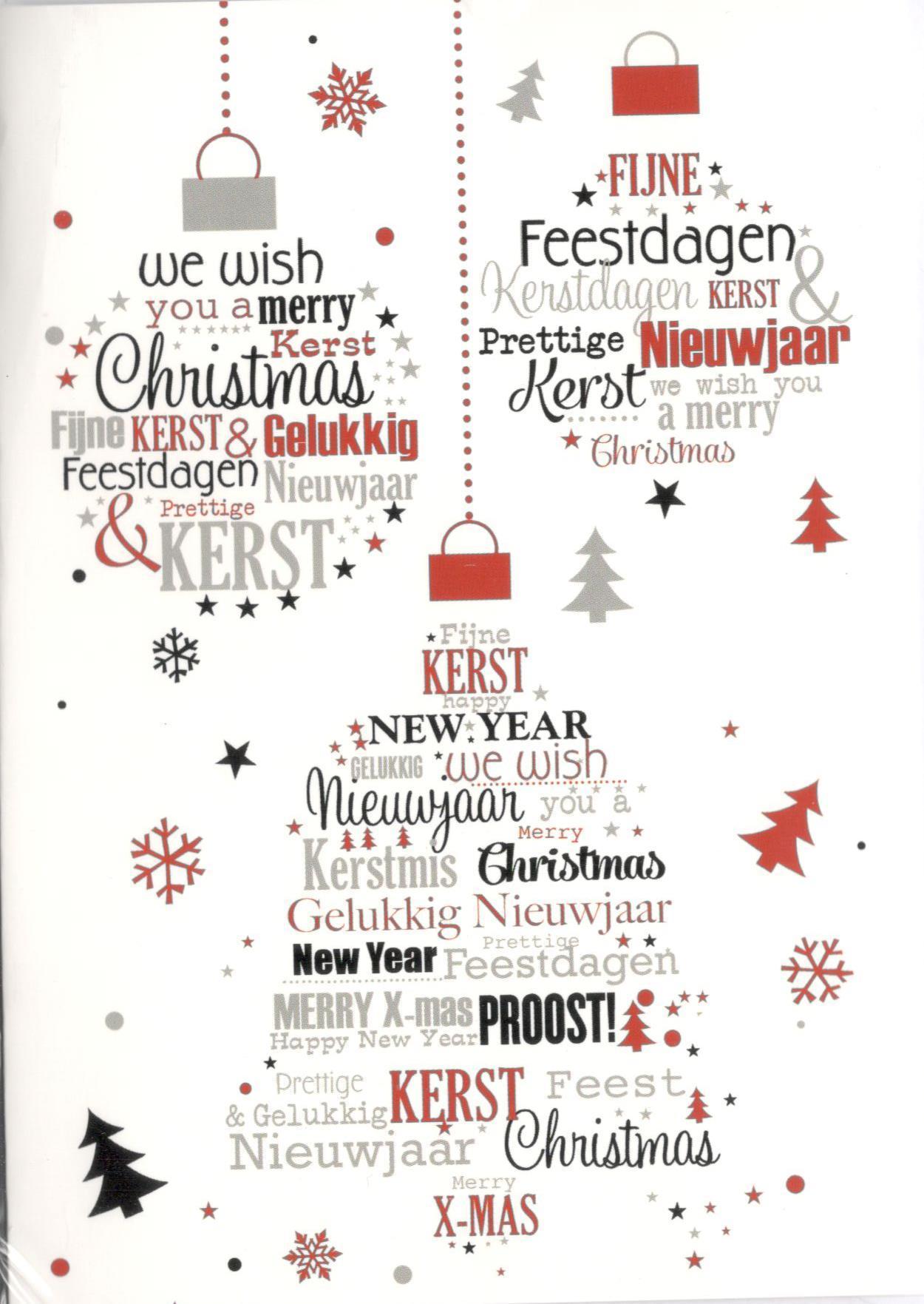 Kerstkaarten Met Kerstwensen In Nederlands En Engels