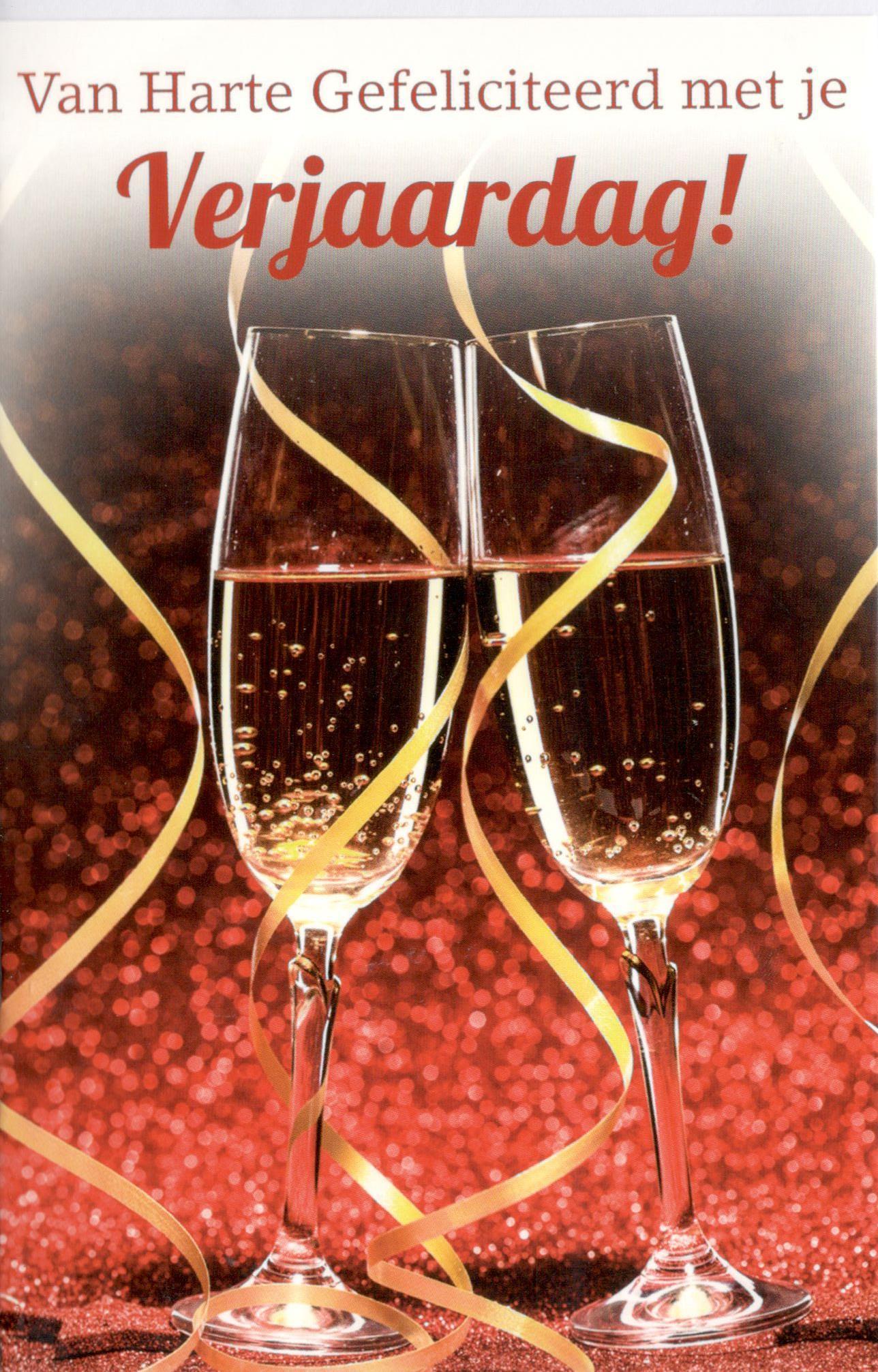 van harte gefeliciteerd champagne
