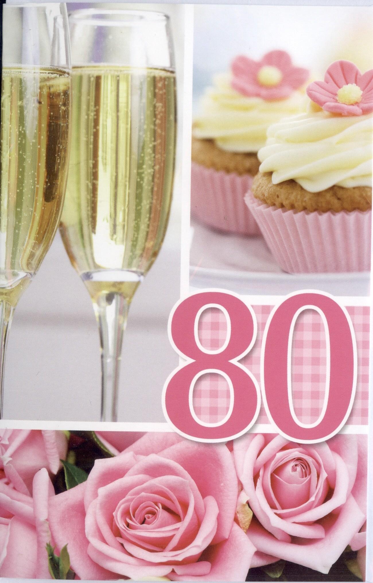 Tachtig Jaar Kaarten Verjaardagskaart 80 Jaar Leeftijdskaarten