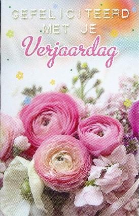 Gefeliciteerd Met Je Verjaardag Bloemen