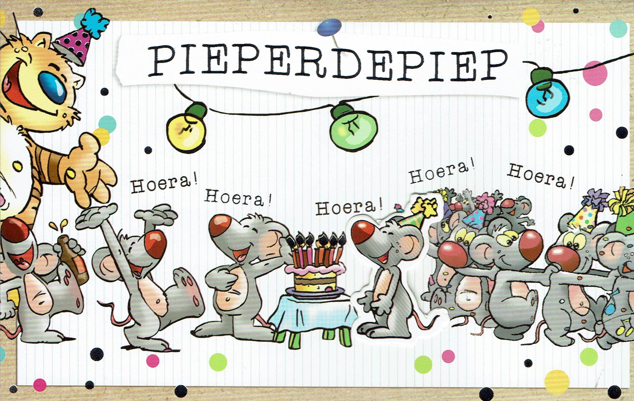 Leuke Verjaardagskaart