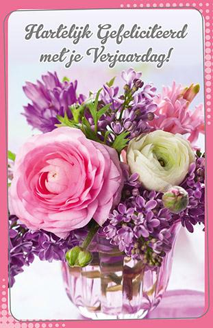 goedkope verjaardagskaarten met bloemen bestellen online
