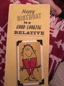 originele verjaardagskaart